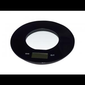 Balança Digital de Cozinha Preta Simona