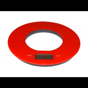 Balança Digital de Cozinha Vermelha Simona