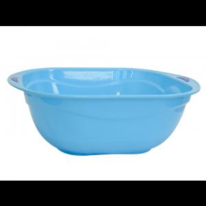 Saladeira de Plástico Azul 39 cm Simona                                 class=